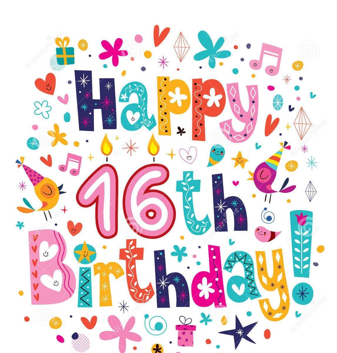 Happy 16th birthday birthday cards wishes messages happy happy 16th birthday birthday cards wishes messages m4hsunfo