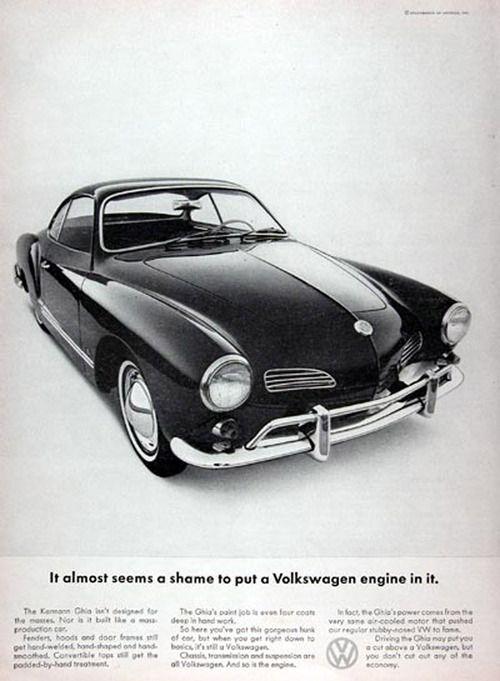 Volkswagen Karmann Ghia, 1965