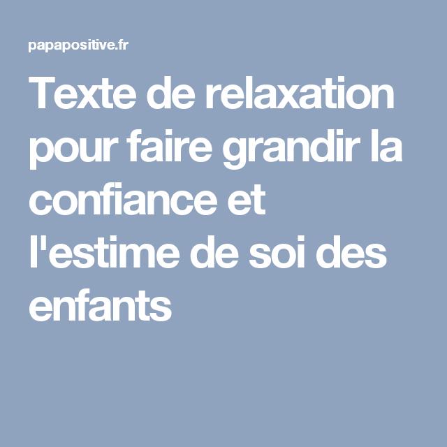 relaxation yoga texte