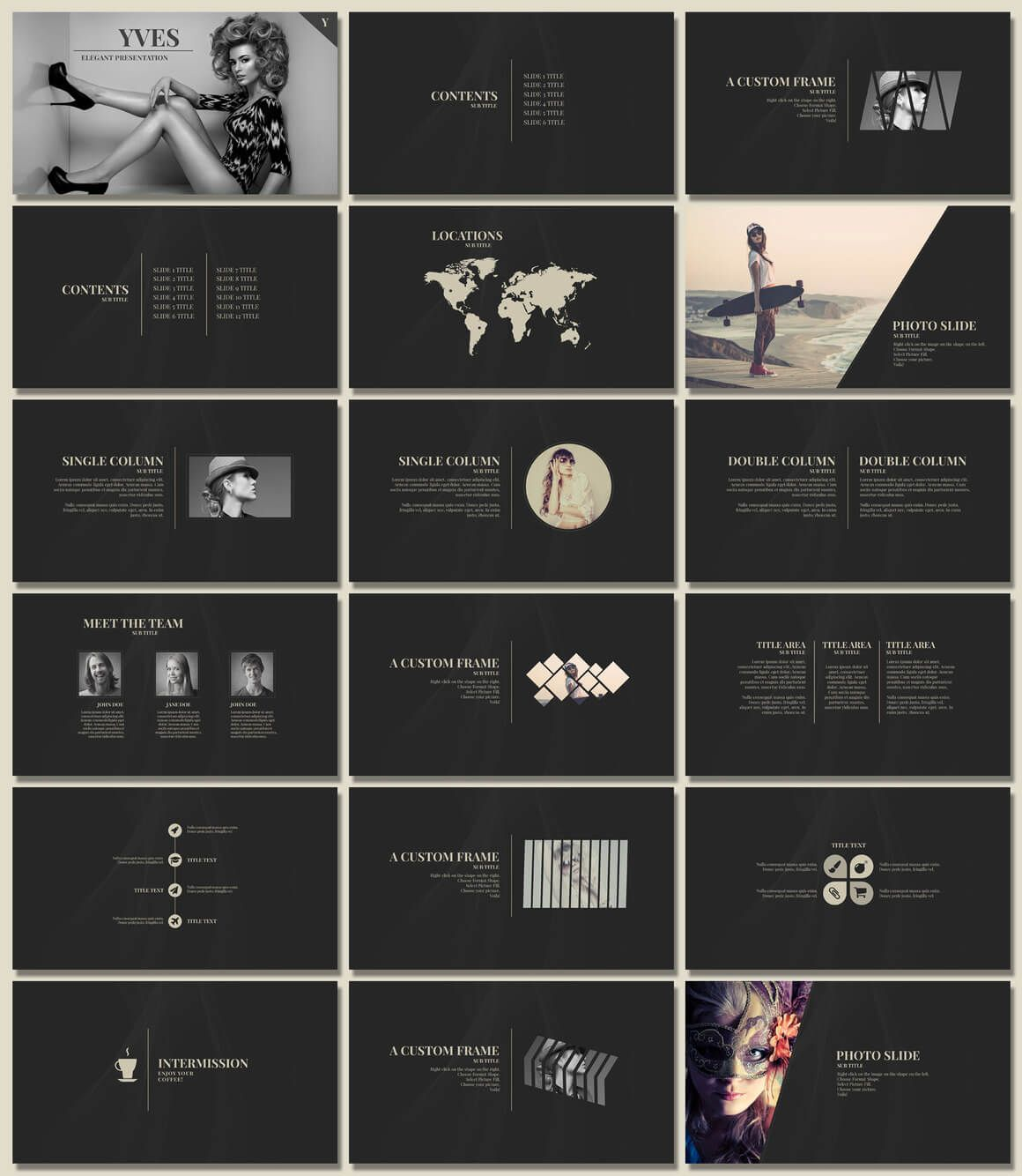 20 outstanding professional powerpoint templates for your next