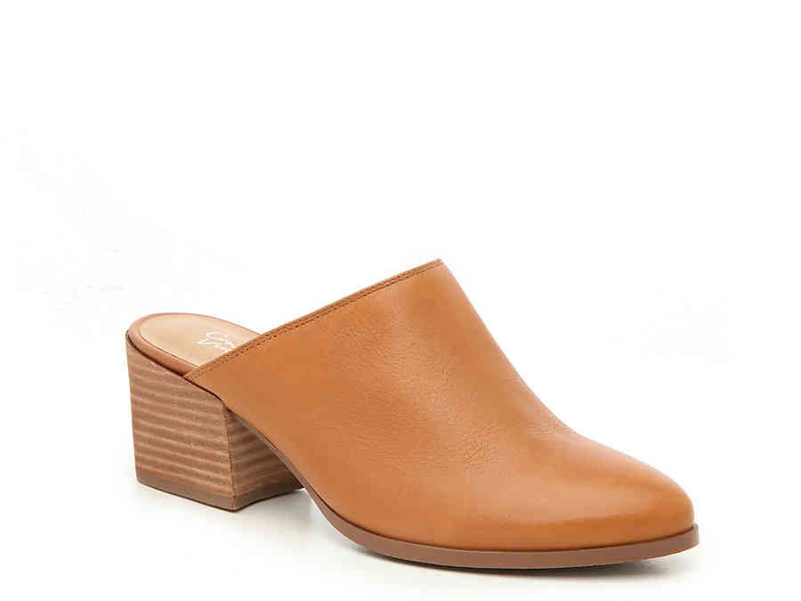 0bb880d13635 Women Abby Mule -Cognac in 2019 | My Style | Shoes, Sandals, Leather ...