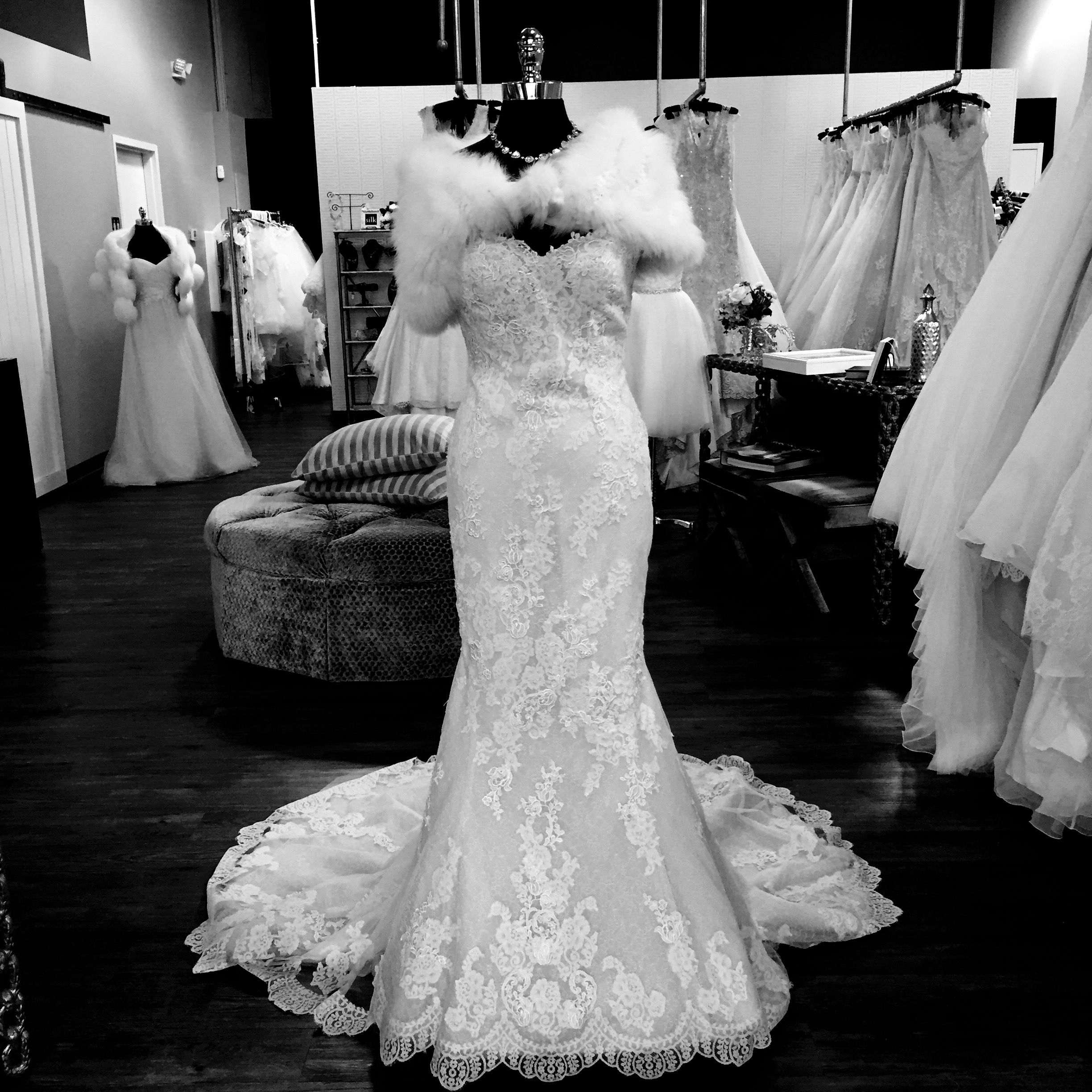 The Ovias Princia Gown Is Center Stage At Our Showroom Right Now Silkbride