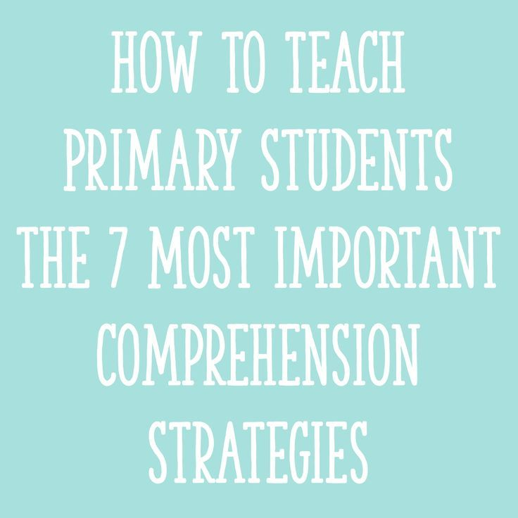 How To Teach Primary Students The 7 Most Important