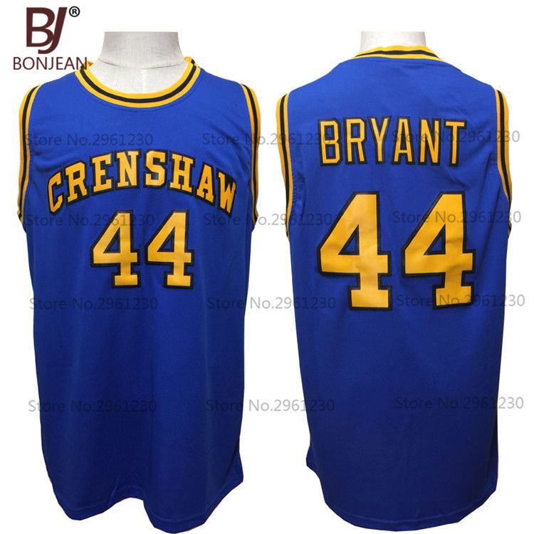 hot sale online 7eae6 29d75 BONJEAN Cheap #44 BRYANT Jersey Crenshaw High School Movie ...