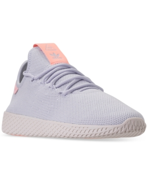 cb5b72587 adidas Women s Originals Pharrell Williams Tennis Hu Casual Sneakers from Finish  Line - Blue 8.5