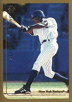 1999 Topps Traded Baseball Alfonso Soriano Rookie Card By Topps Traded 3 95 1999 Topps Traded Baseball T65 Alfonso Sor Sports Cards Baseball Baseball Cards