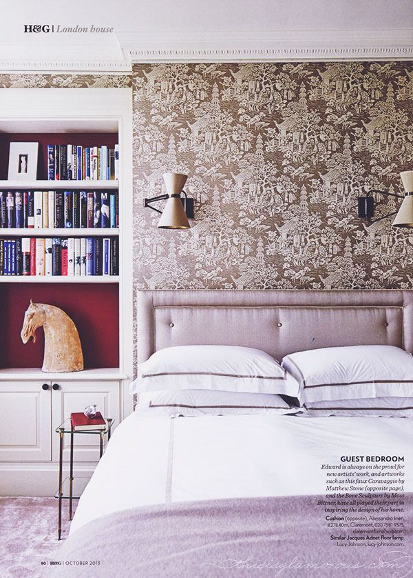{two lovely things   in the bedroom : pretty print & pattern}   Flickr - Photo Sharing!