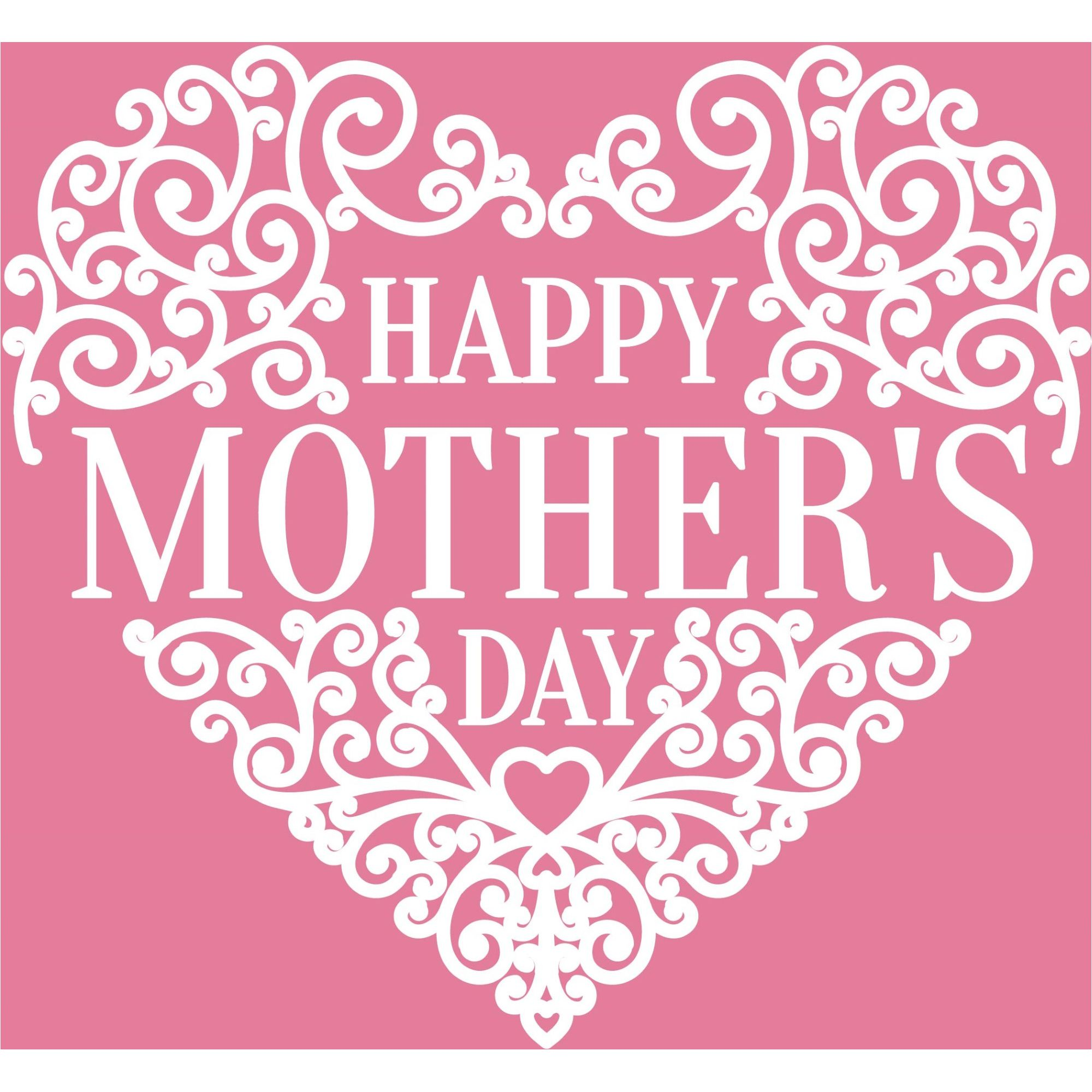 happy mother u0027s day heart design vector greeting card 500 best