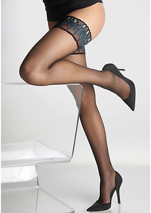 78fd0a452b91d Falke Ultra-Transparent Shimmer Thigh Highs on shopstyle.com ...