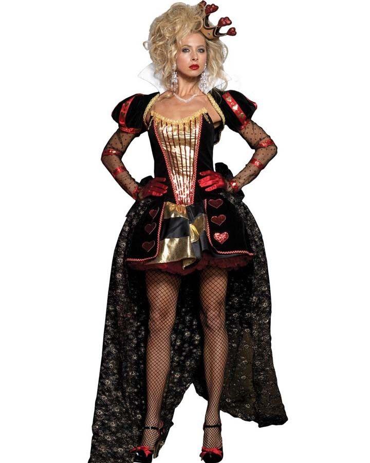 Deluxe Wonderland Queen Womens Costume Costumes  Make up - female halloween costume ideas