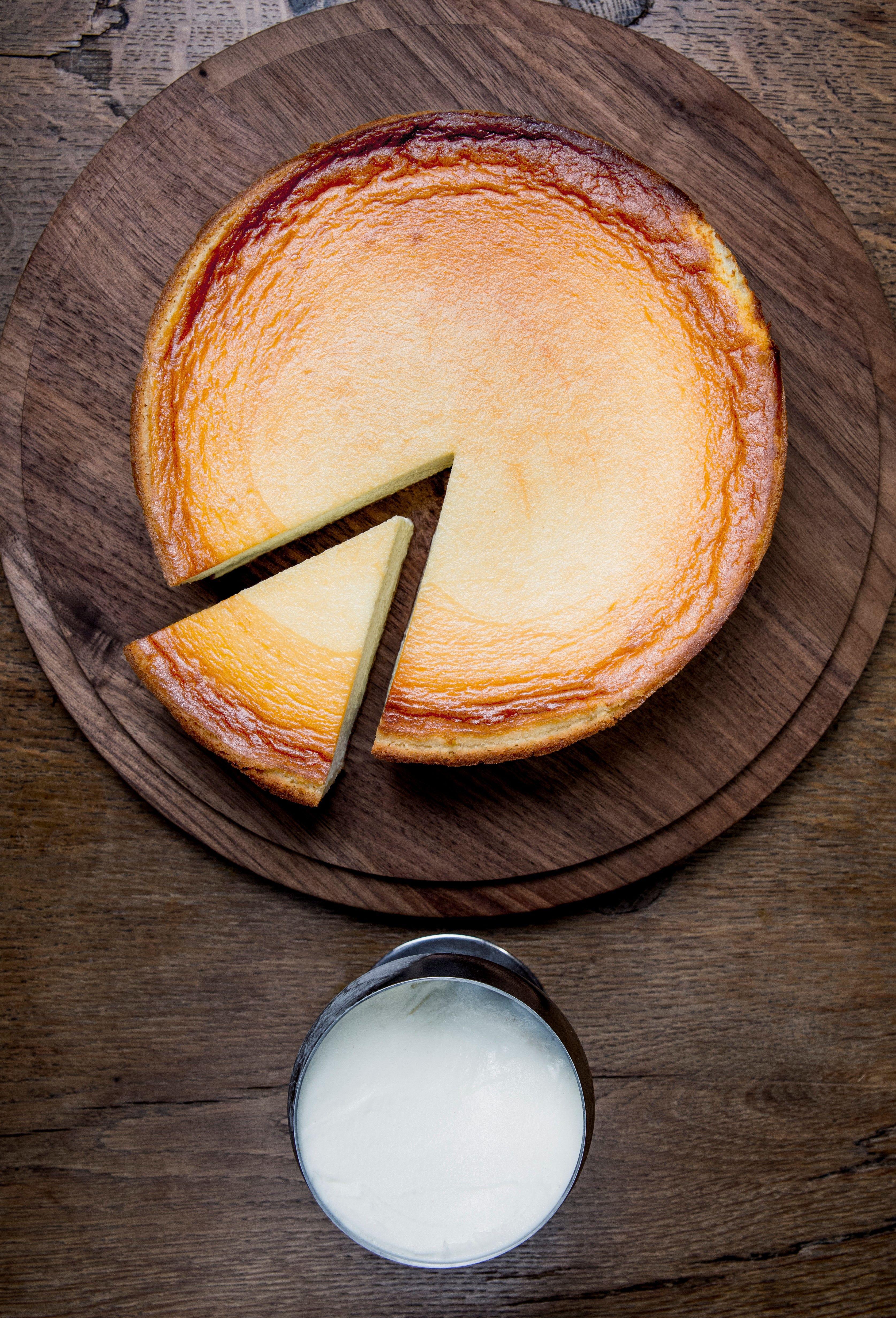 Notre Gateau Prefere Au Fromage Blanc Spoon Dessert Desserts Fromage Blanc