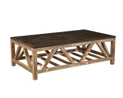 Old Fir and Bluestone Coffee Table RB Condo Pinterest
