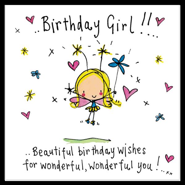 Birthday Girl Wishes Status
