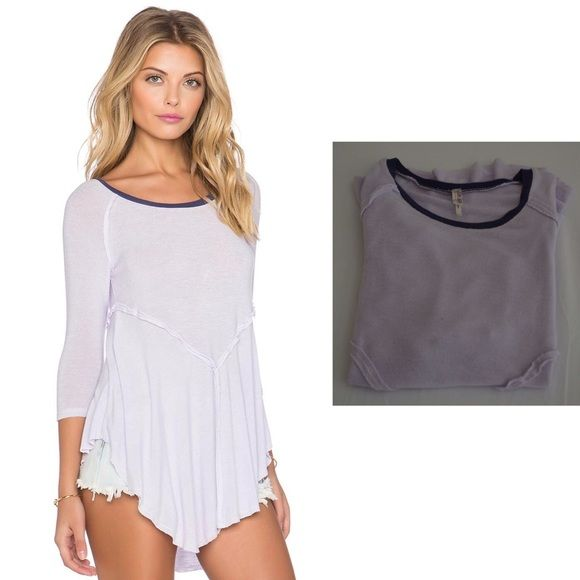 Free People Weekends Layering Top FLASH SALE PRICE FIRM******Worn only once! Never been washed. Feel free to make offers I can't resist! No trades, no asking me to model, and no holds! Cheers!  Free People Tops