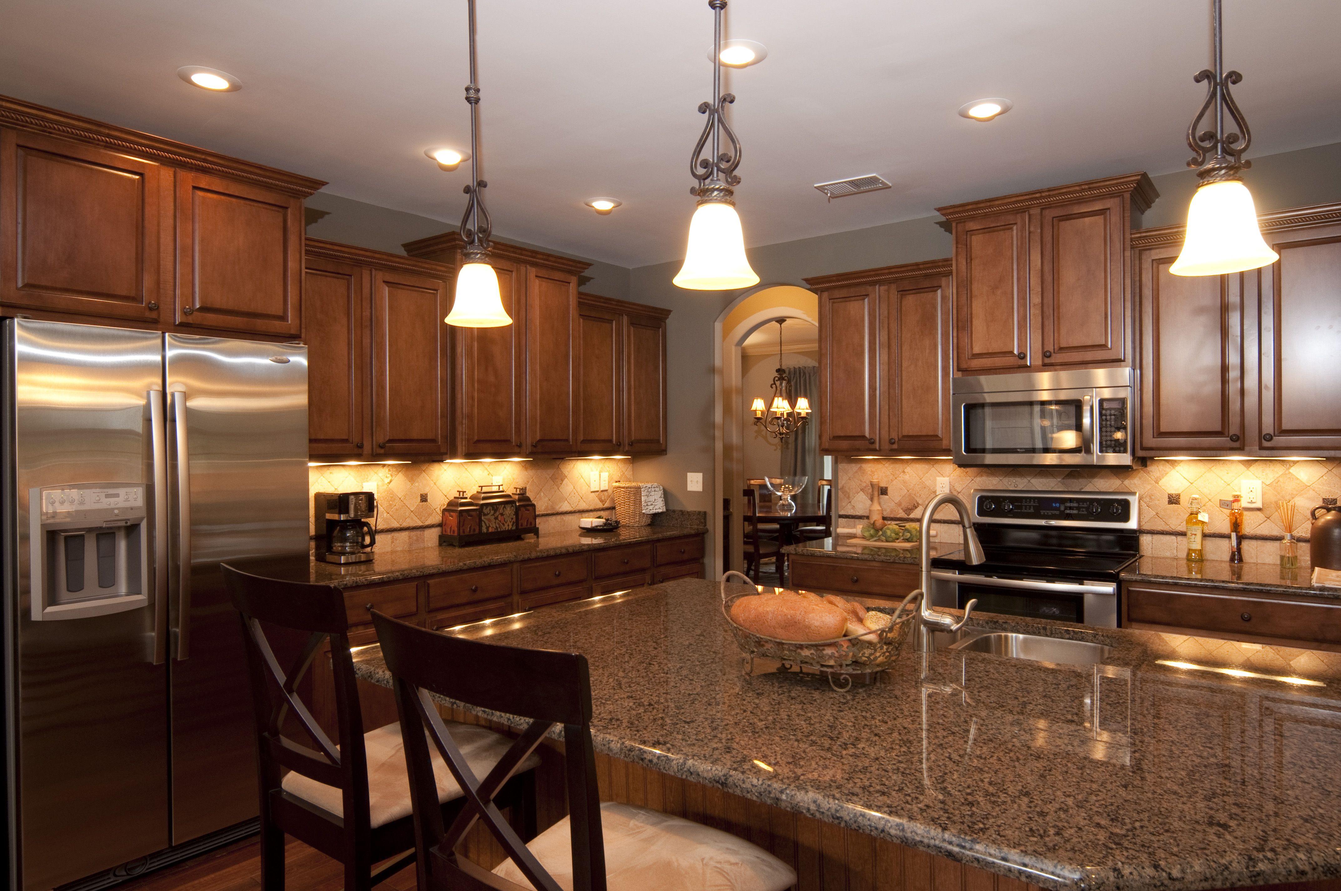 Regency Homebuilders Open Concept Living and Kitchen
