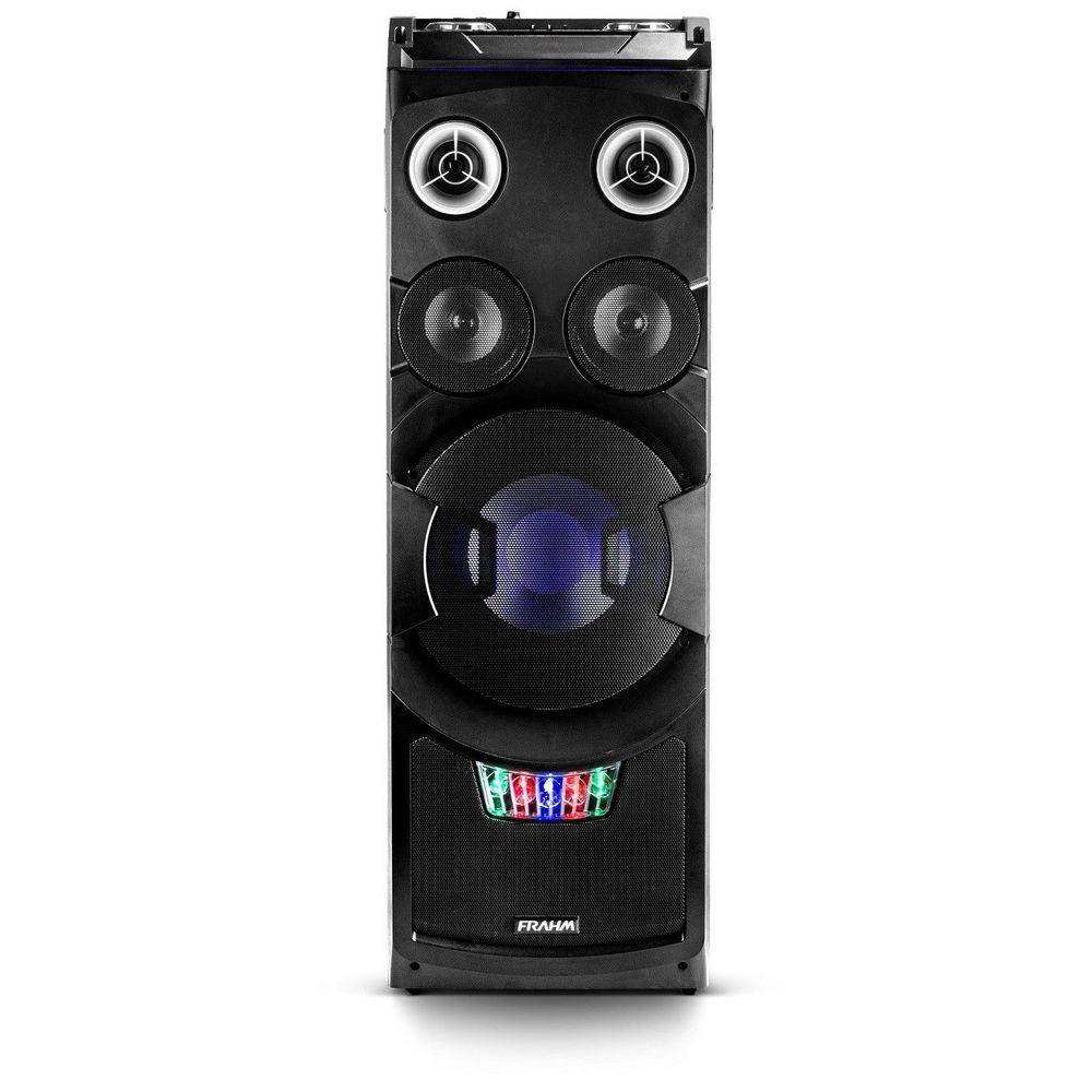 Mini System Torre Dj Control Tws 5000 Watts Bluetooth Usb Fm
