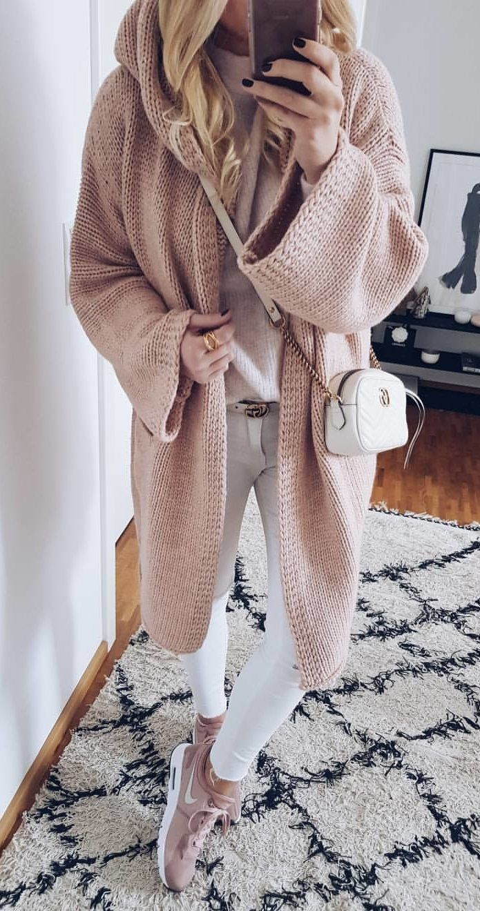 100+ magical winter outfits that contain you – knitted women https: // ha …