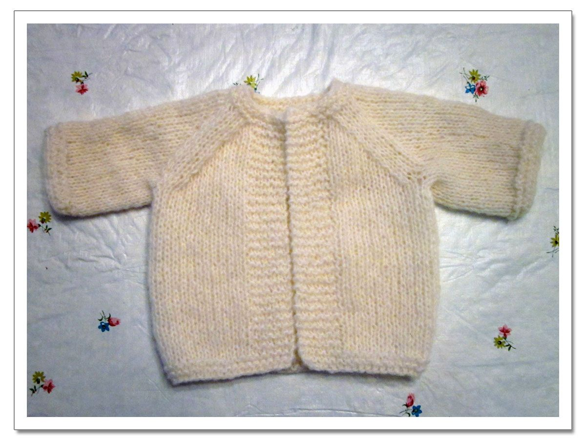 patterns for a baby boyblanket to knit | Ava\'s Frappe Cardigan ...