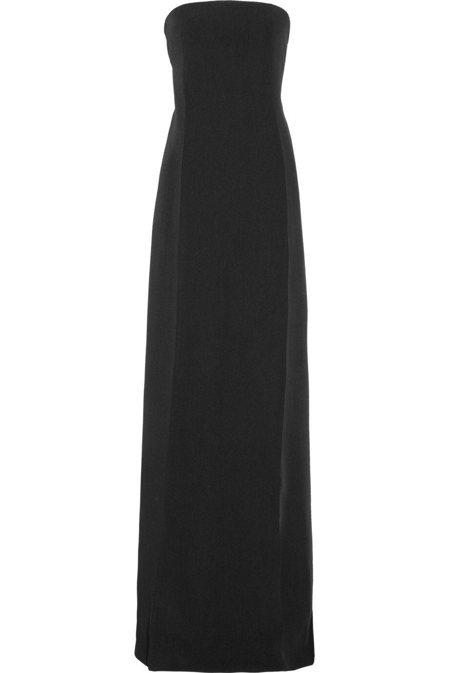 Calvin klein black maxi dress dresses pinterest calvin klein