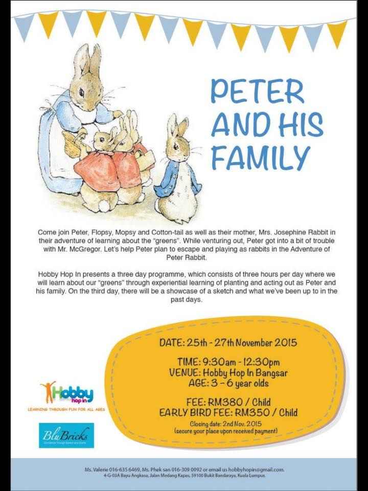 School Holiday Programme For 3-6 Year Olds ~ Parenting Times ...