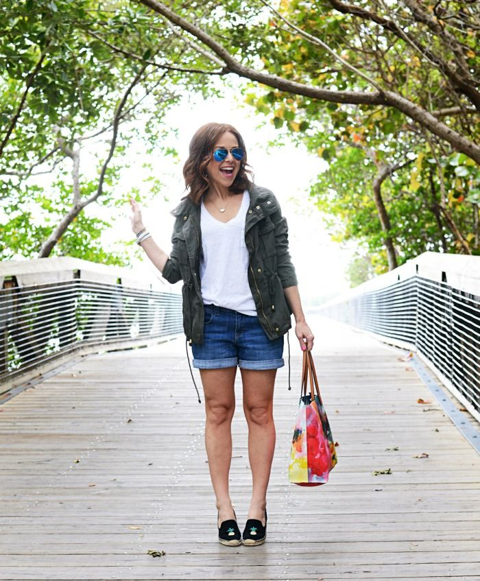 35f03b0f97d How to wear a cargo jacket in the summer
