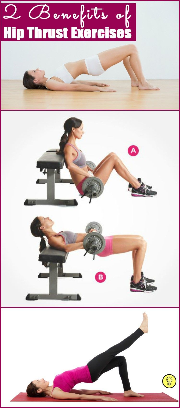 2 Effective Hip Thrust Exercises And Their Benefits ...