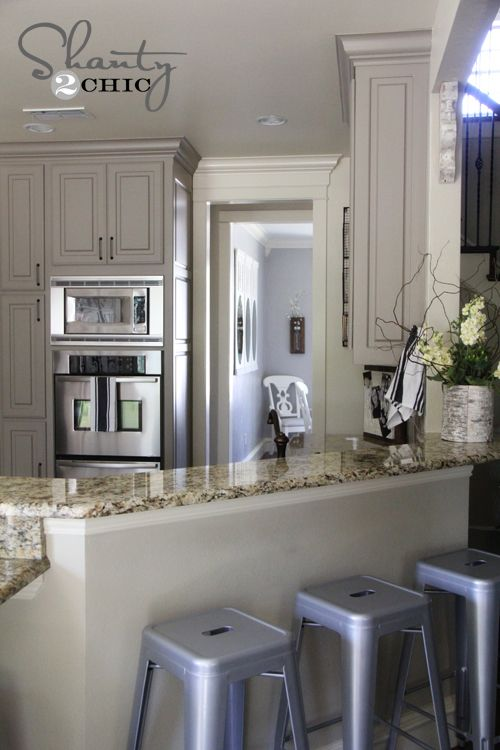 Choosing My Battles And A Paint Color Diy Kitchen Cabinets Kitchen Renovation New Kitchen Cabinets