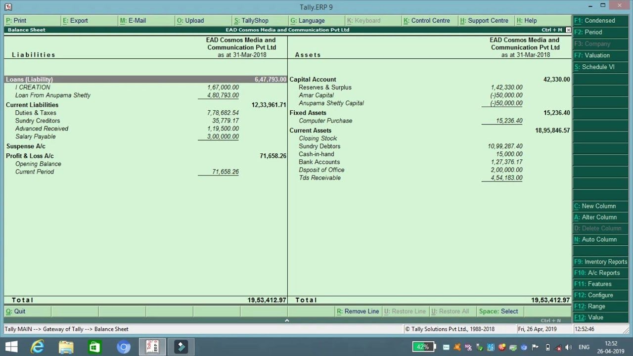 what is balance sheet in hindi capital account estimated format simple p&l and template