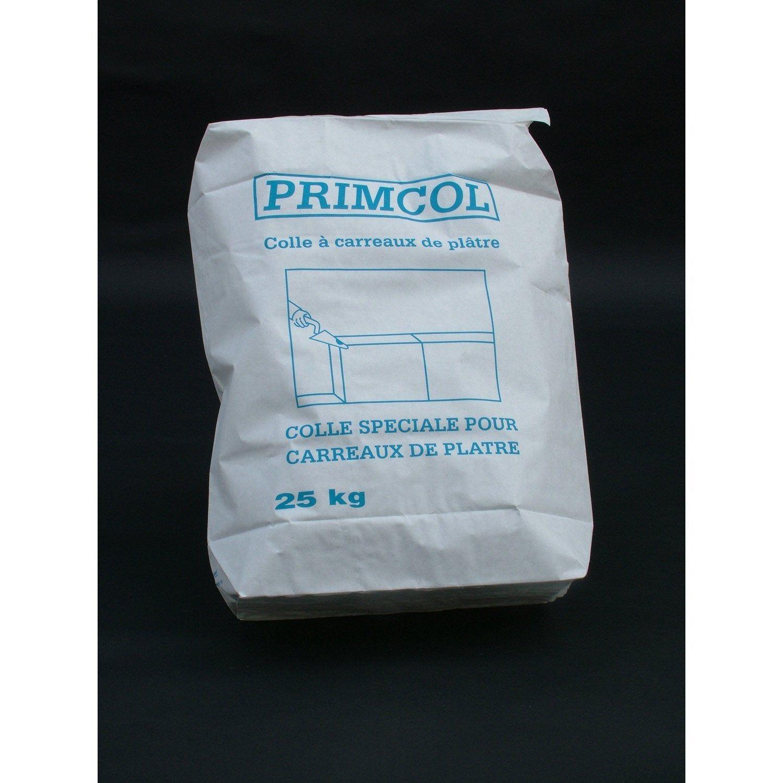 Colle Pour Carreaux De Plâtre Primcol Home Pratik 25 Kg En