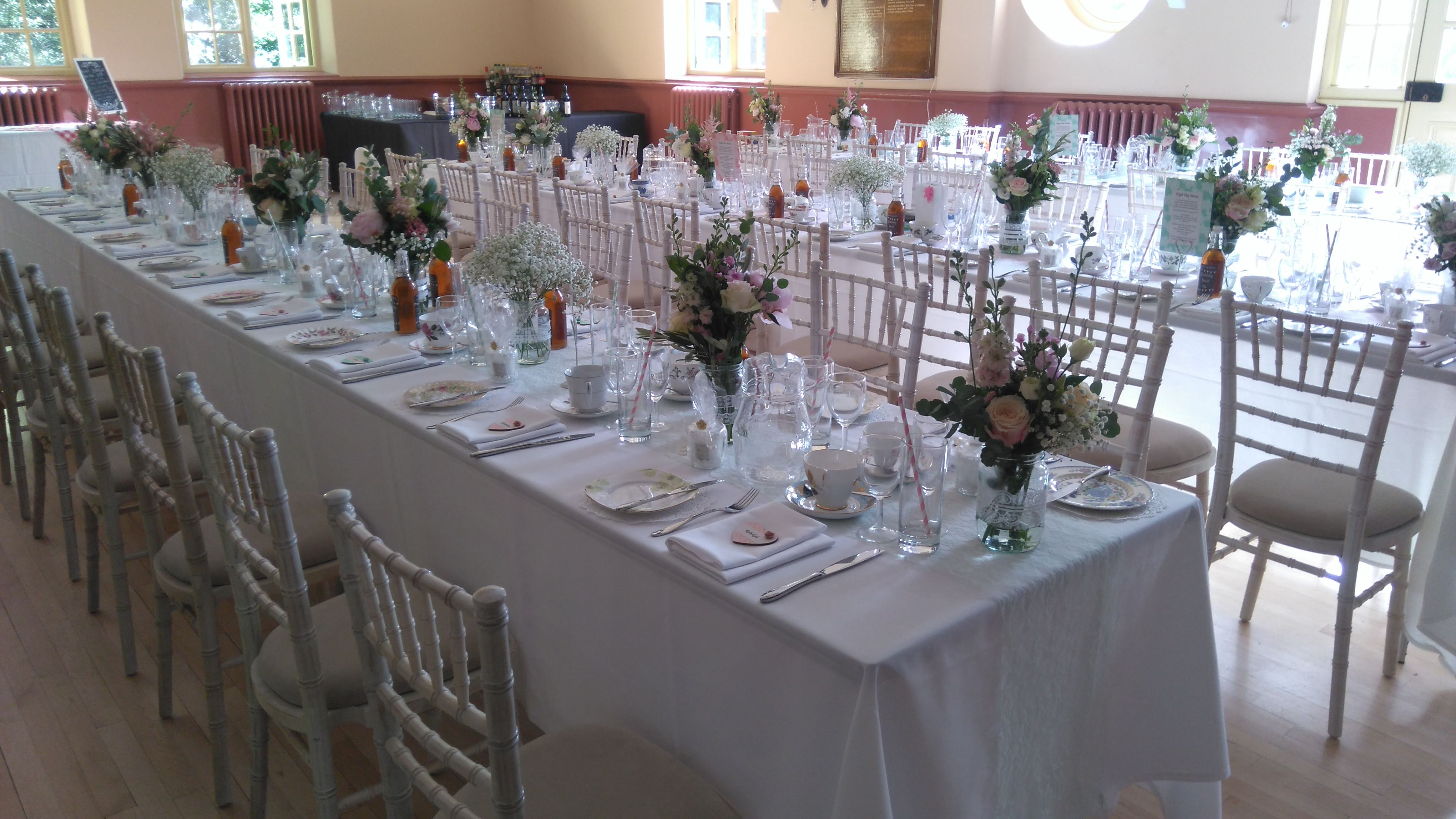 Limewash chiavari chairs supplied by Simply Bows and Chair Covers