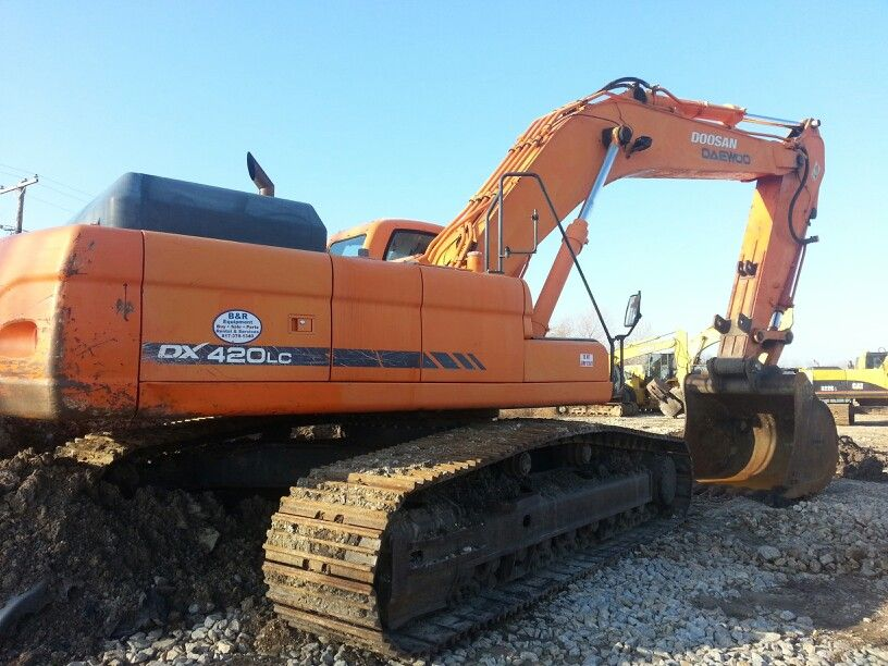 2006 Doosan DX 420 Excavator for sale at B&R Equipt. We sell ...