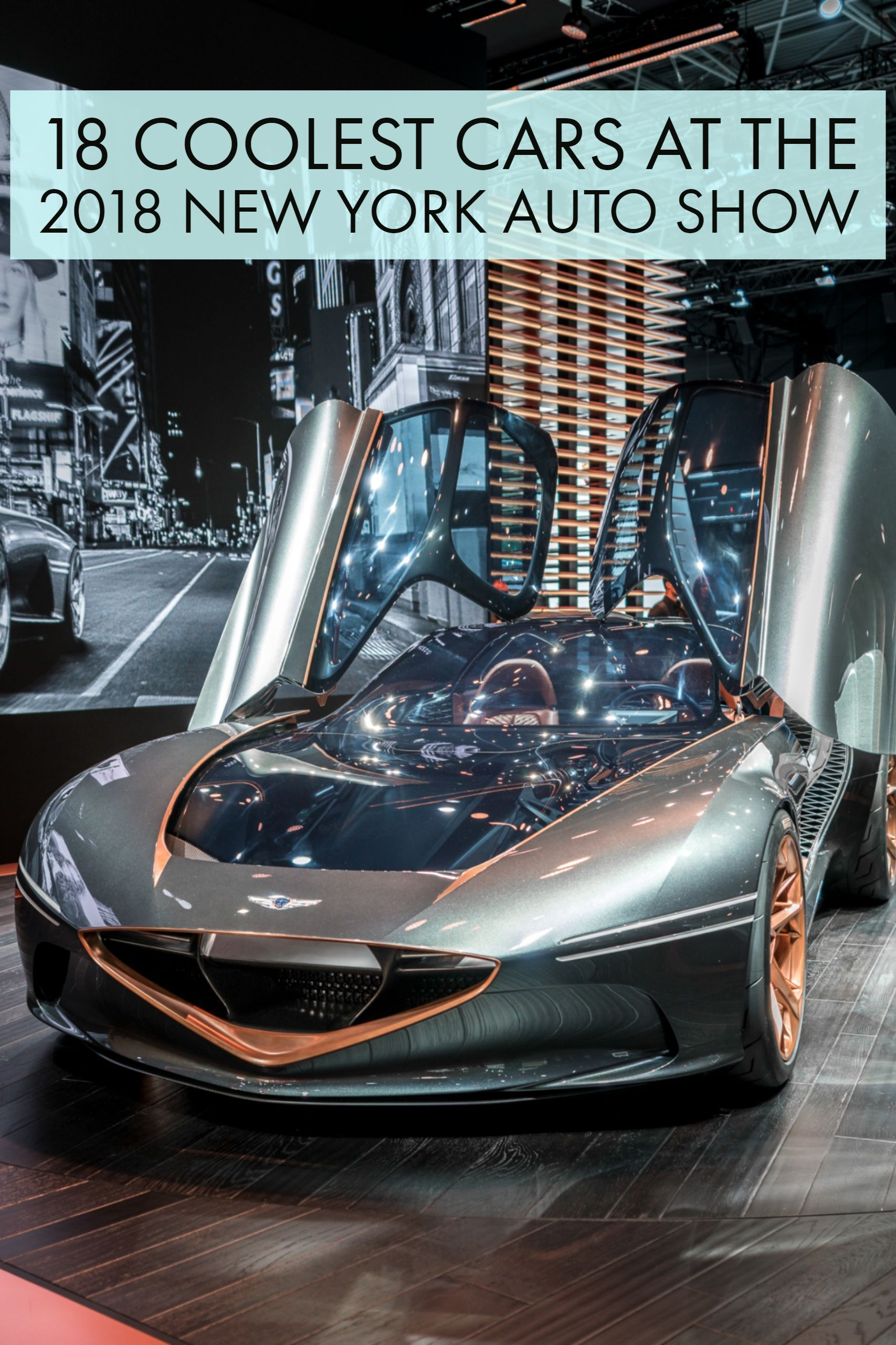 The Coolest Cars At The 2018 New York Auto Show With Images