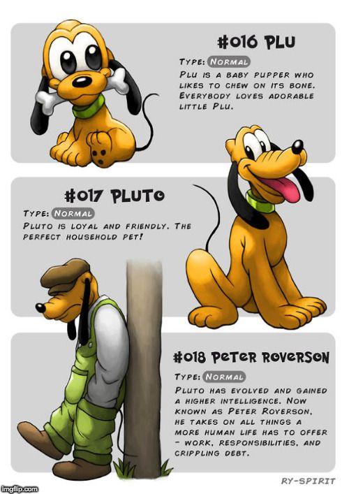 So lustig würden diese Disney-Helden als Pokémon aussehen! Vom Haustier von Micky Maus zum intelligenten Mann.