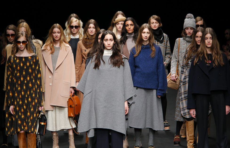 「beautiful people」2015-'16 A/W COLLECTION ウールやカシミヤなどの上質な素材を用いて http://fashionjp.net/soen/fashion/feature/beautifulpeople150318/