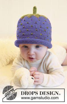 Sweet Blueberry / DROPS Baby 21-20 - Kostenlose Strickanleitungen von DROPS Design