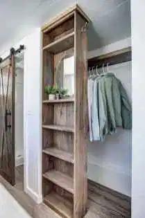 11 Space Saving Tiny House Storage Organization and Tips Ideas - homixover.com #tinyhousebathroom