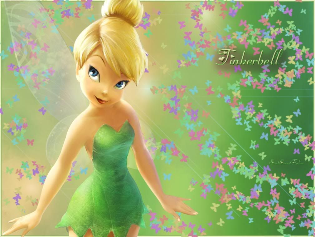 Hd Image TinkerBell Wallpaper  butterfly birthday party
