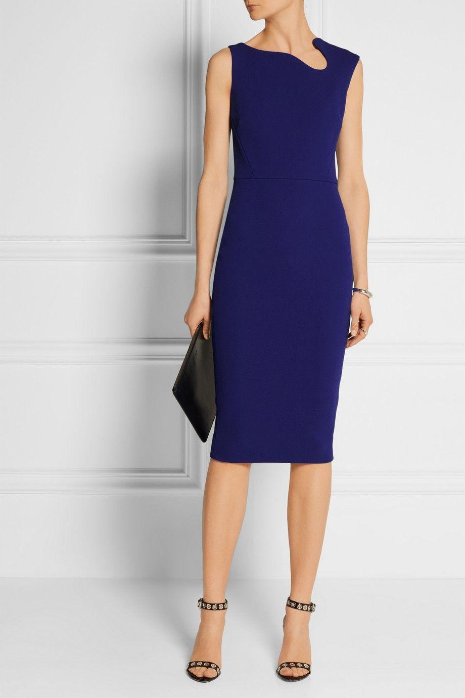 Victoria Beckham Crepe Dress Crepe Dress Victoria Beckham Dress Victoria Dress [ 1380 x 920 Pixel ]