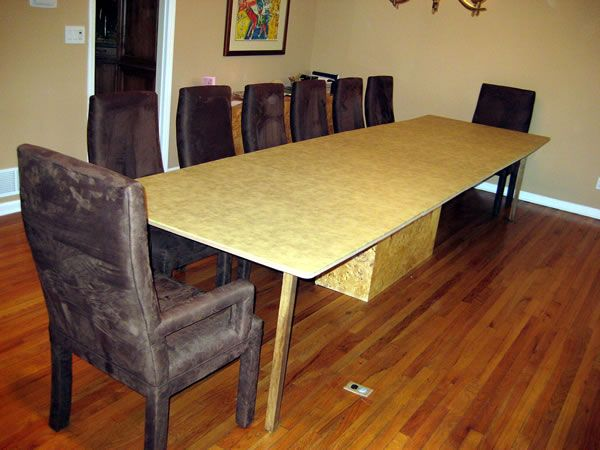 Cohen S Garden State Table Pads Our Unique Table Extenders To Extend The Size Of Your Table Country Dining Rooms Minimalist Dining Room Dining Room Furniture