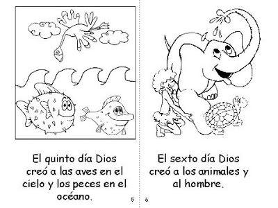 Los Dias De La Creacion Creacion De Dios Cain Y Abel Adan Y Eva