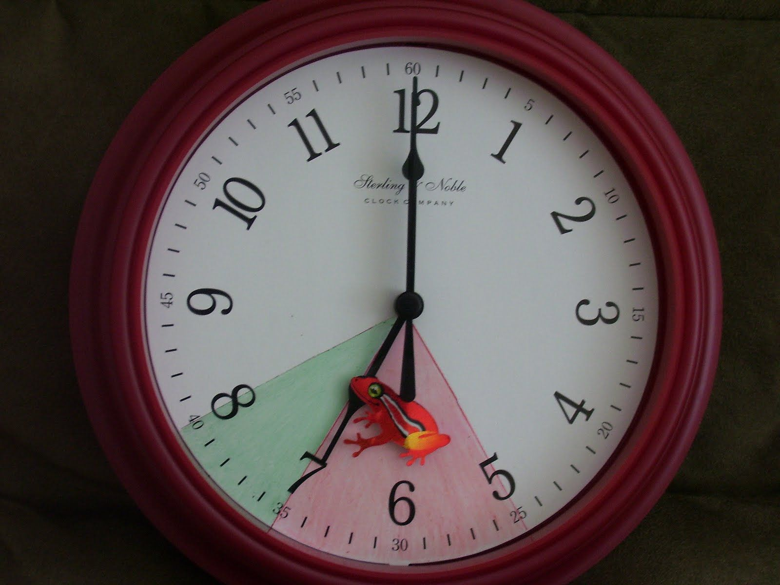 stay in bed clock. If only my brother had this clock