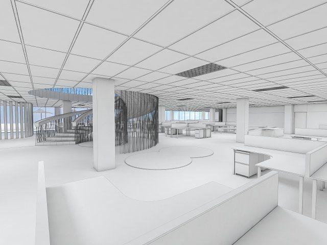 Office Interior 3D Model .max .c4d .obj .3ds .fbx .lwo .stl @3DExport.com by monogroup