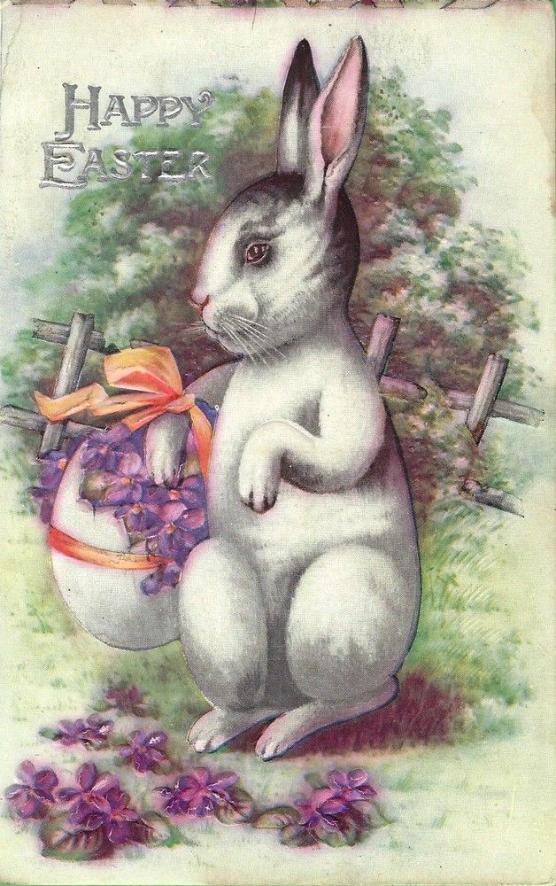 Old Easter Post Card — (628x1000)