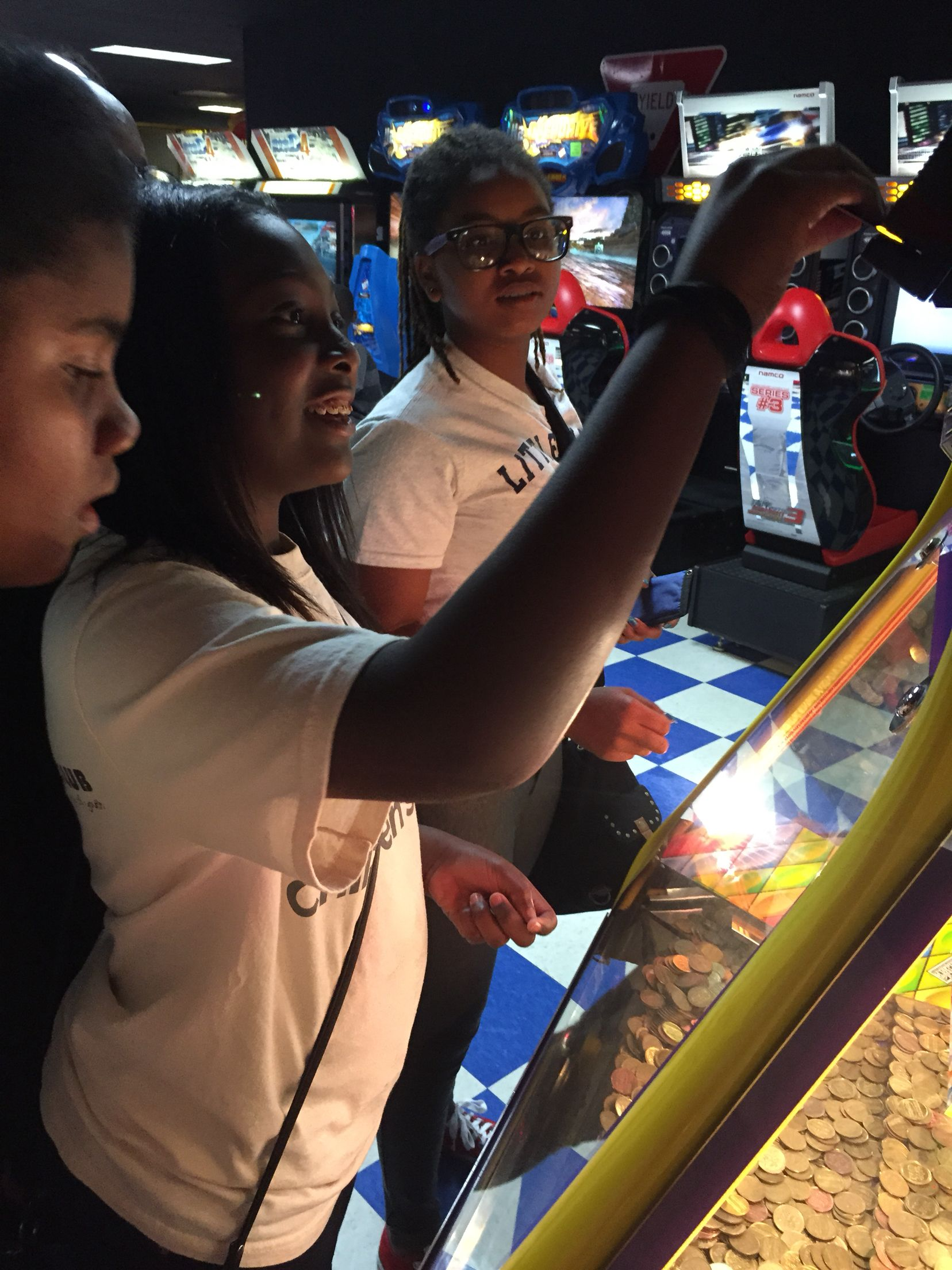 Show me the money! Gaming at the arcade After school
