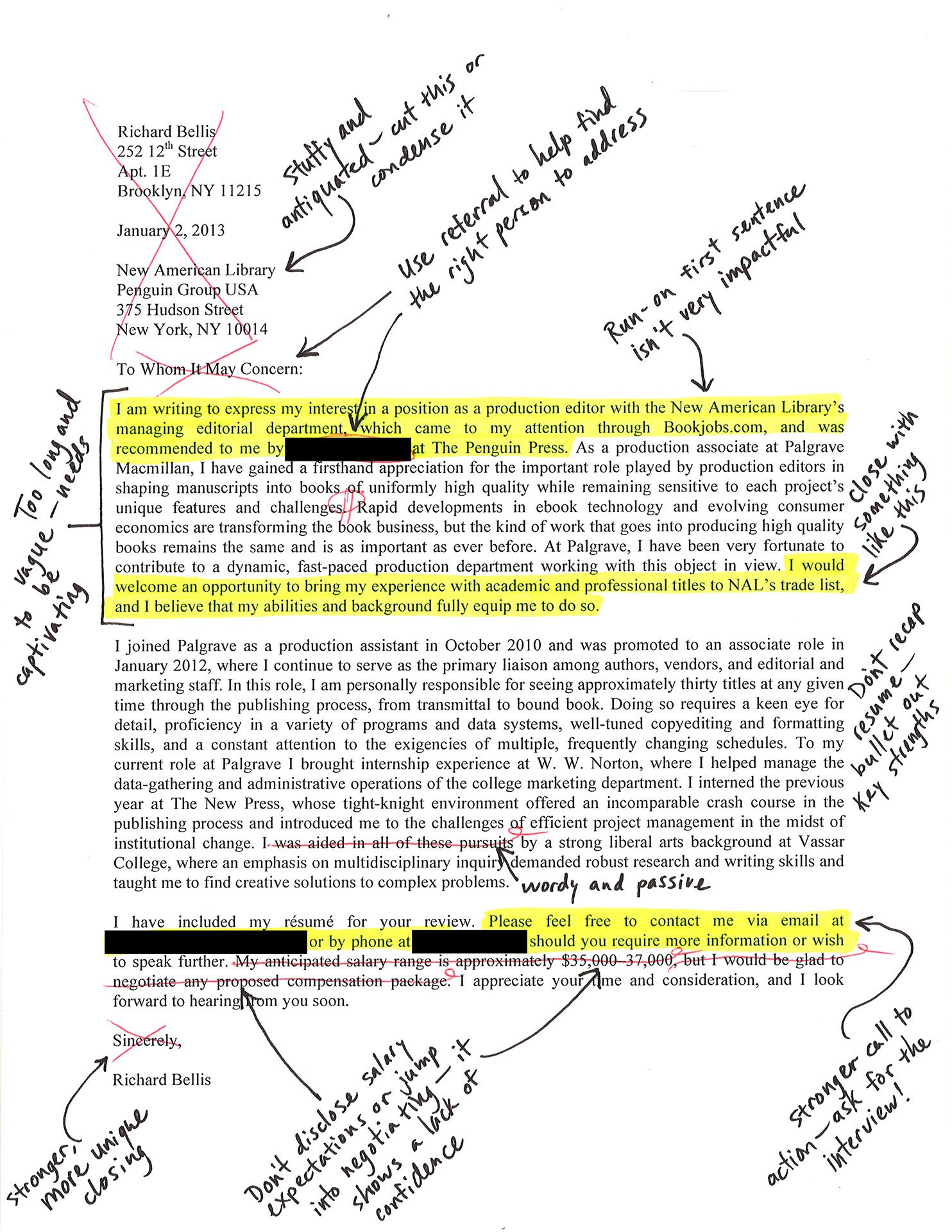 I Had Career Experts Make Over My Crappy Cover Letter | Work ...