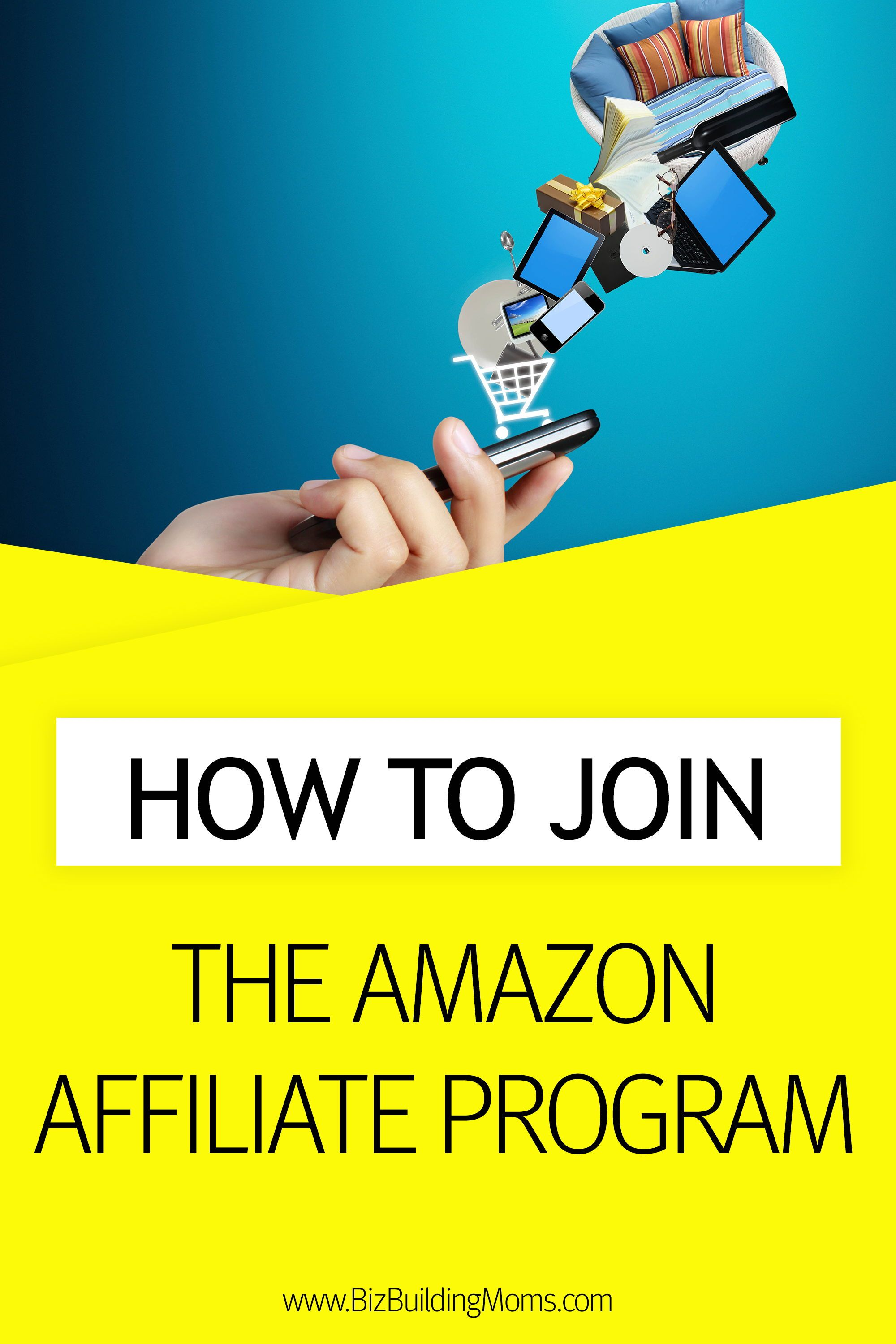 How To Join The Amazon Affiliate Program Amazon