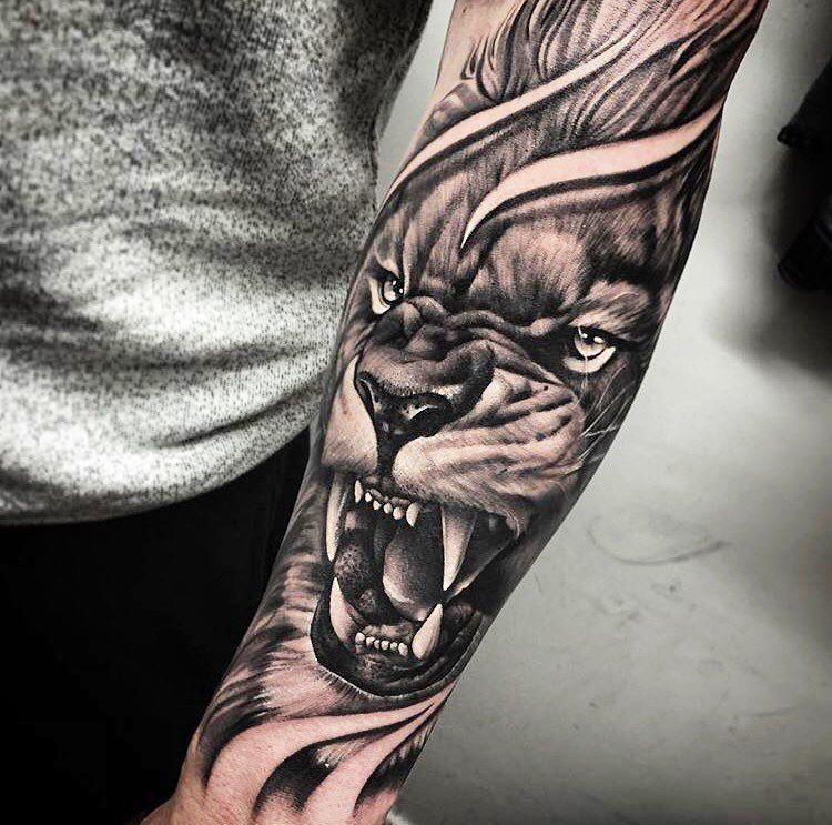 Amazing 35 Amazing Tattoo Design Ideas For Men 2019 Http Klambeni Com 2019 03 20 35 Amazing Tattoo D Lion Tattoo Sleeves Lion Forearm Tattoos Forearm Tattoos