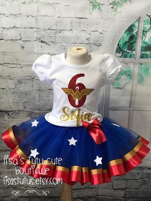 Wonder Woman Birthday Outfit. Wonder Woman Tutu Wonder Woman Outfit Wonder Woman Birthday