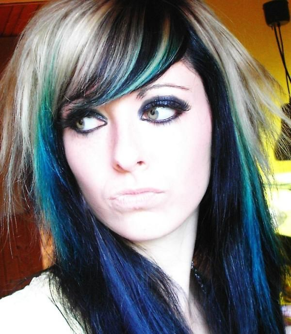 Emo Hairstyles For Girls With Long Hair  30 Groovy Emo -5470