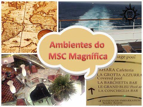 Ambientes - Navio MSC Magnífica